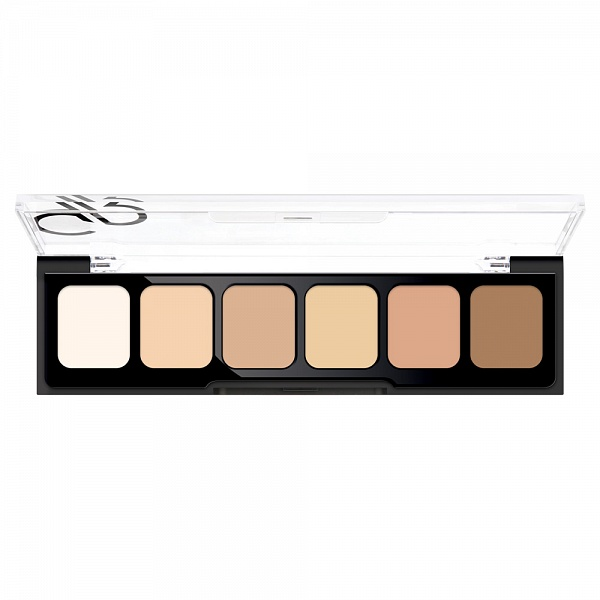 Корректор Golden Rose CONCEALER CREAM PALETTE 01