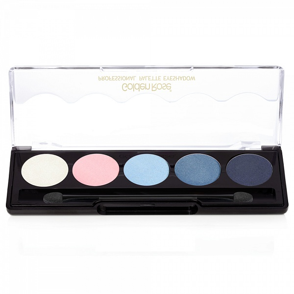 Тени для век Golden Rose Professional Palette Eyeshadow 101 - Blue Line